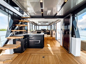Salon view from Aft Deck