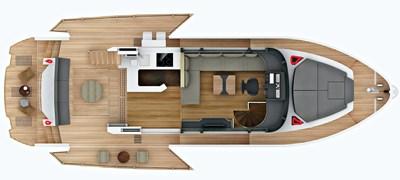 Okean 50 Deck Layout