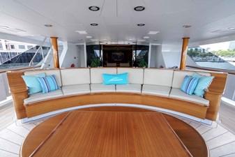 Main Aft Deck: ASPEN ALTERNATIVE 164' 2010 Trinity Tri-Deck Motor Yacht