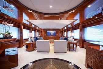 Main Salon: Aspen Alternative 164' 2010 Trinity Tri Deck Motor Yacht