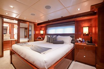 Guest Stateroom 1 - King: ASPEN ALTERNATIVE 164' 2010 Trinity Tri-Deck Motor Yacht