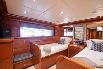 Stateroom 4-Twin: ASPEN ALTERNATIVE 164' 2010 Trinity Tri-Deck Motor Yacht
