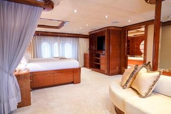 Master Stateroom: ASPEN ALTERNATIVE 164' 2010 Trinity Tri-Deck Motor Yacht