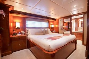 Stateroom 2 - King: ASPEN ALTERNATIVE 164' 2010 Trinity Tri-Deck Motor Yacht