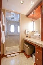 Guest Bath: ASPEN ALTERNATIVE 164' 2010 Trinity Tri-Deck Motor Yacht