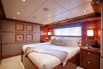 Guest Stateroom 3- King: ASPEN ALTERNATIVE 164' 2010 Trinity Tri-Deck Motor Yacht