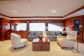 Skylounge Seating: ASPEN ALTERNATIVE 164' 2010 Trinity Tri-Deck Motor Yacht