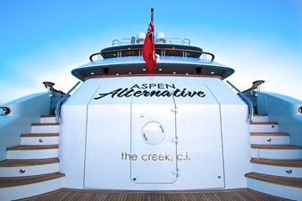 Transom: ASPEN ALTERNATIVE 164' 2010 Trinity Tri-Deck Motor Yacht