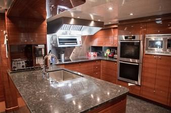 Galley: ASPEN ALTERNATIVE 164' 2010 Trinity Tri-Deck Motor Yacht