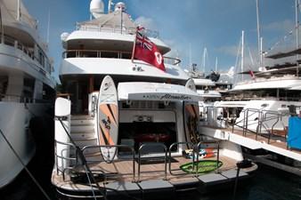 Swim Platform: ASPEN ALTERNATIVE 164' 2010 Trinity Tri-Deck Motor Yacht