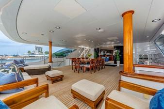 Bridge Deck Aft:  ASPEN ALTERNATIVE 164' 2010 Trinity Tri-Deck Motor Yacht