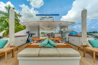 Sun Deck Forward:  ASPEN ALTERNATIVE 164' 2010 Trinity Tri-Deck Motor Yacht