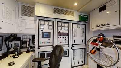 Control Room: ASPEN ALTERNATIVE 164' 2010 Trinity Tri-Deck Motor Yacht