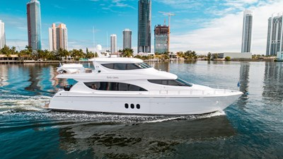 80' Hatteras Family Jewel Profile