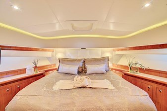 VIP QUEEN STATEROOM FORWARD
