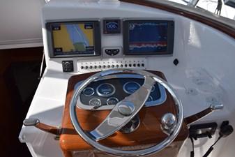 Garmin system with autopilot, CHIRP and radar