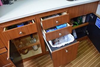 Drawer storage / trash bin / bar storage