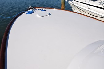 Clean foredeck