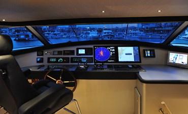 Petardo C 36 Mondomarine 85 Petardo - Wheelhouse Night