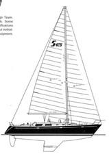 Sabre 425 Line Drawings