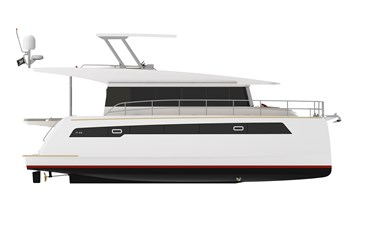 Electric Yachts Silent Yachts 44 Side
