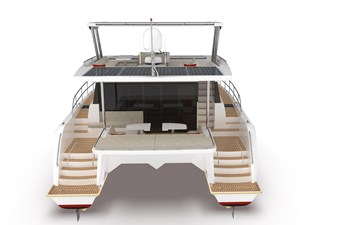 Electric Yachts Silent Yachts 44 Aft Perspective
