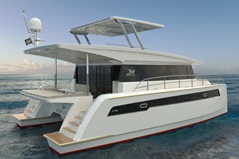 Electric Yachts Silent Yachts 44 STB Aft