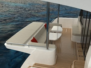 Electric Yachts Silent Yachts 44 Aft Seat -2