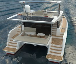 Electric Yachts Silent Yachts 44 AFT Table