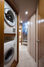 Washer and Dryer in Companionway