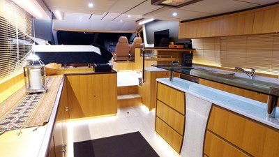 Full Galley and Salon View