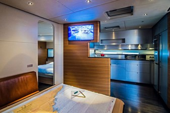 Galley view from table