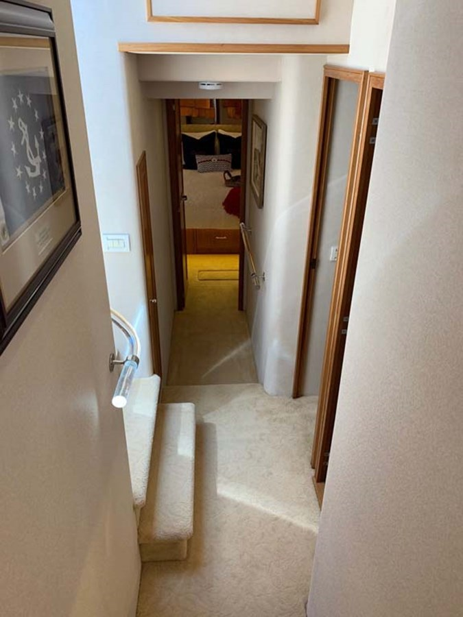 20 Accommodations Level Hallway Looking Aft