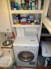 40 Utility, Storage, Laundry Area Below Aft Deck