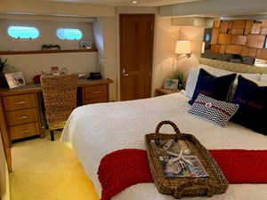 24 Master Stateroom Starboard View