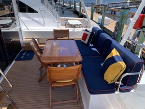 48 Aft Deck Starboard View