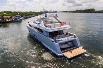Gerry's Ferry 4 Gerry's Ferry 2016 CUSTOM LINE 97 MY Motor Yacht Yacht MLS #260473 4