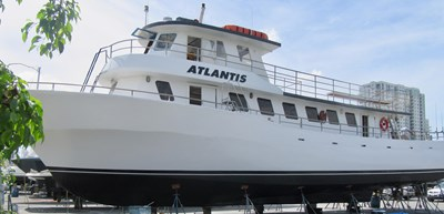 70' Drift Fishing Vessel 90 Person Commercial 1986 ATLANTIS