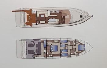 Ferretti 700 Perfetto layout 2