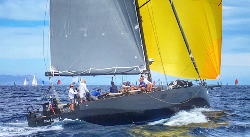 BLACK LEGEND 4 Black Pepper Code 2-1 Sailing Yacht 002