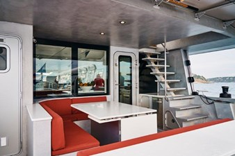 MAIN AFT DECK SEATING