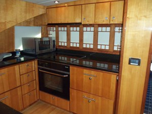 Galley with Partitian Closed