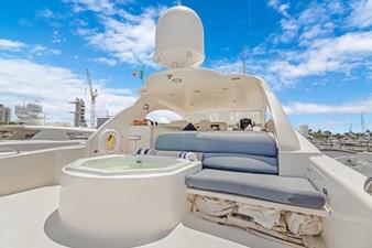 BELLA GIORNATA 2 BELLA GIORNATA 94' Lazzara 2000/2018 Flybridge Motor Yacht: Flybridge with Jacuzzi