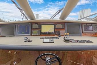 BELLA GIORNATA 20 BELLA GIORNATA 94' Lazzara 2000/2018 Flybridge Motor Yacht: Wheelhouse