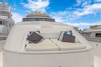 BELLA GIORNATA 5 BELLA GIORNATA 94' Lazzara 2000/2018 Flybridge Motor Yacht: Bow Seating