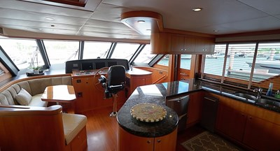 Hem Station with Galley and Dinette