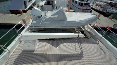 Upper Deck Aft with Tender and Lift