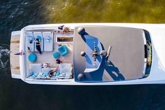 Flybridge Lounge Aerial View