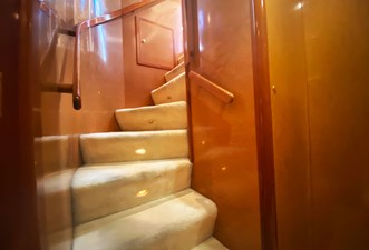 (312)Falcon-86-Motor-Yacht-Interior-Stairs
