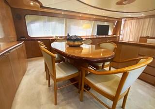 (343)Falcon-86-Motor-Yacht-Dining-Table